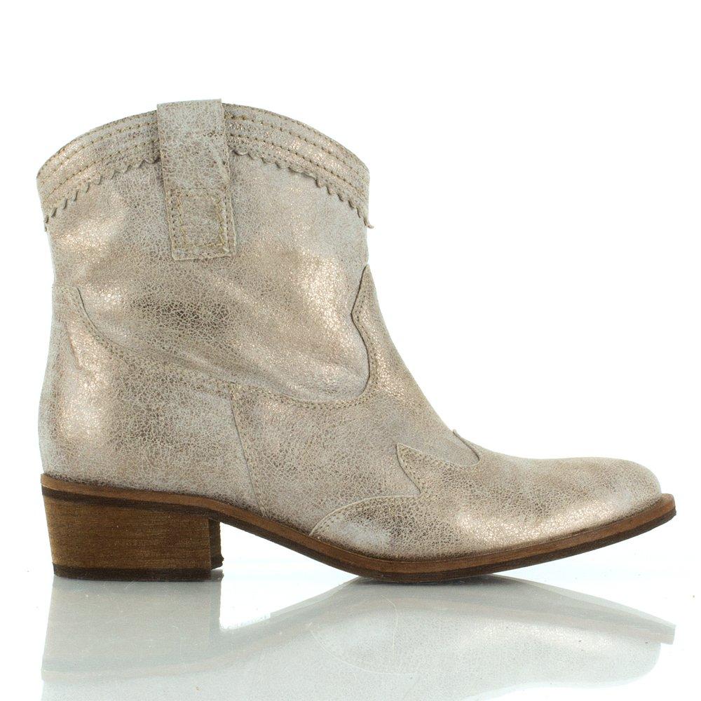 Daniel Bronze Decibal Women S Metallic Ankle Boot