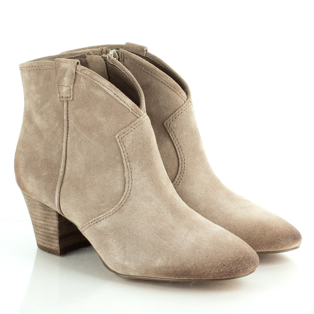 ash taupe spiral women s ankle boot