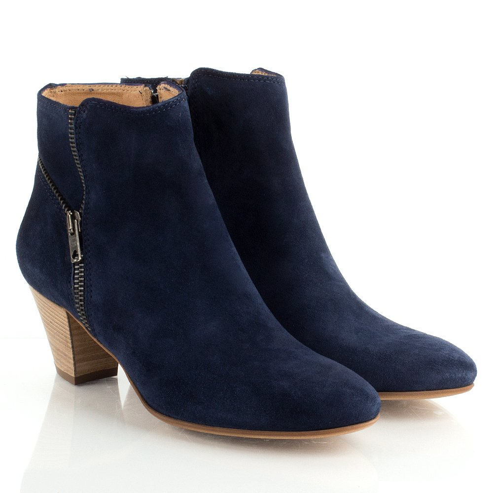 ladies navy blue ankle boots | Gommap Blog