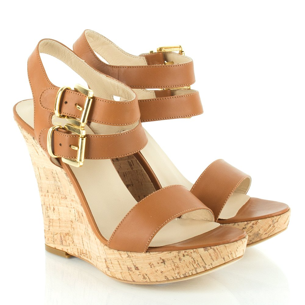 Daniel Tan Unforgettable Women S Buckle Wedge Sandal
