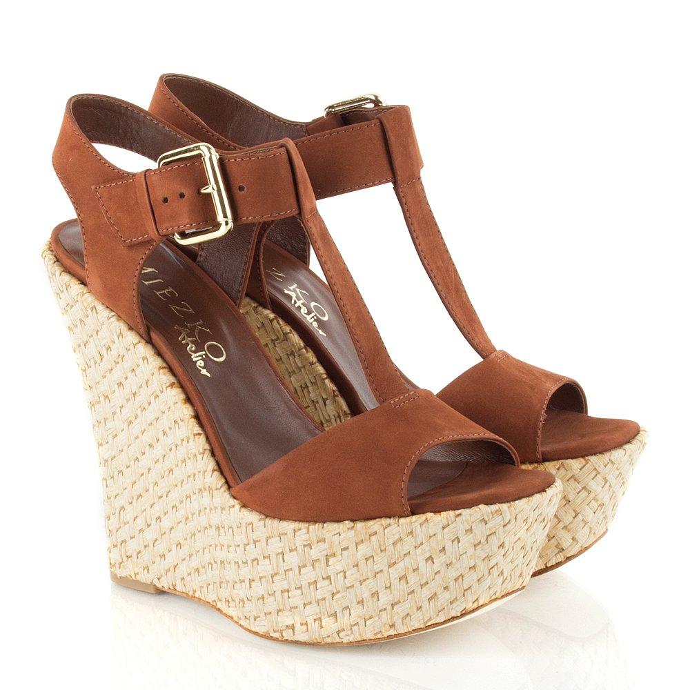 Daniel Brown Clement Women S High Wedge Sandal
