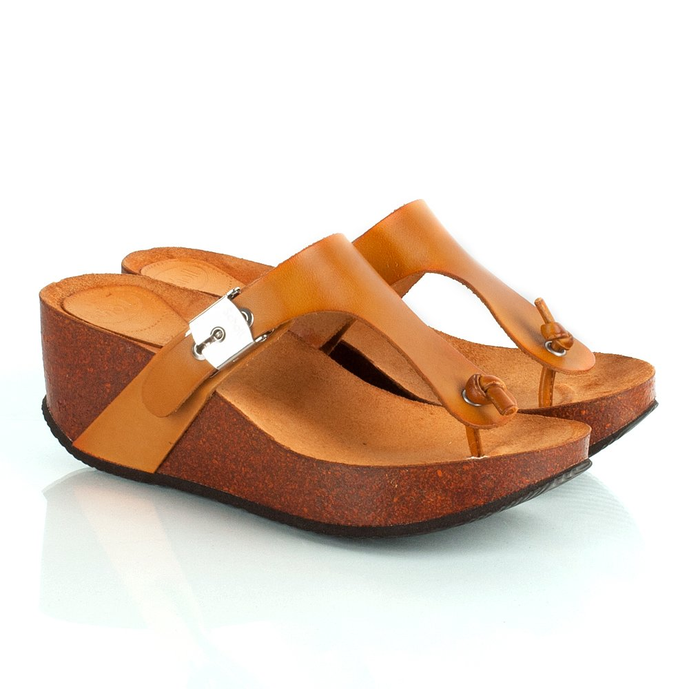 scholl edna s wedge toe post sandal