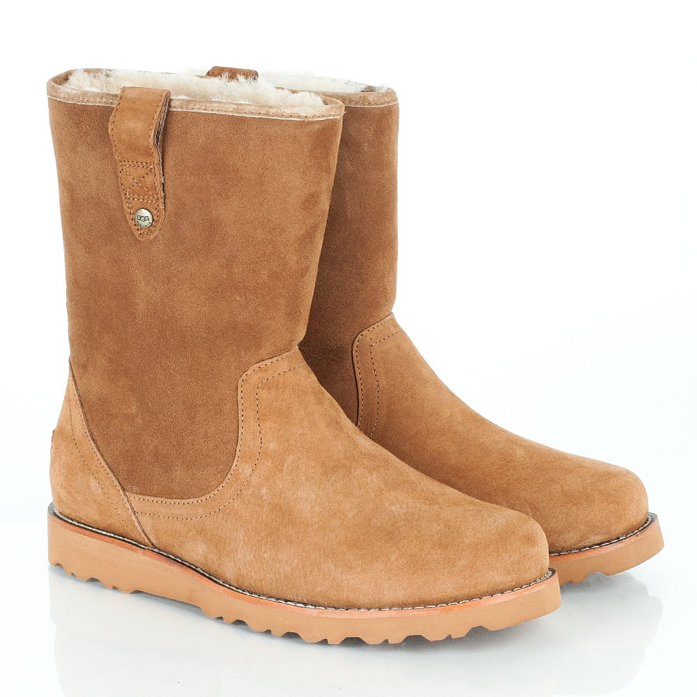 ugg r chestnut stoneman men 39 s sheepskin boot. Black Bedroom Furniture Sets. Home Design Ideas