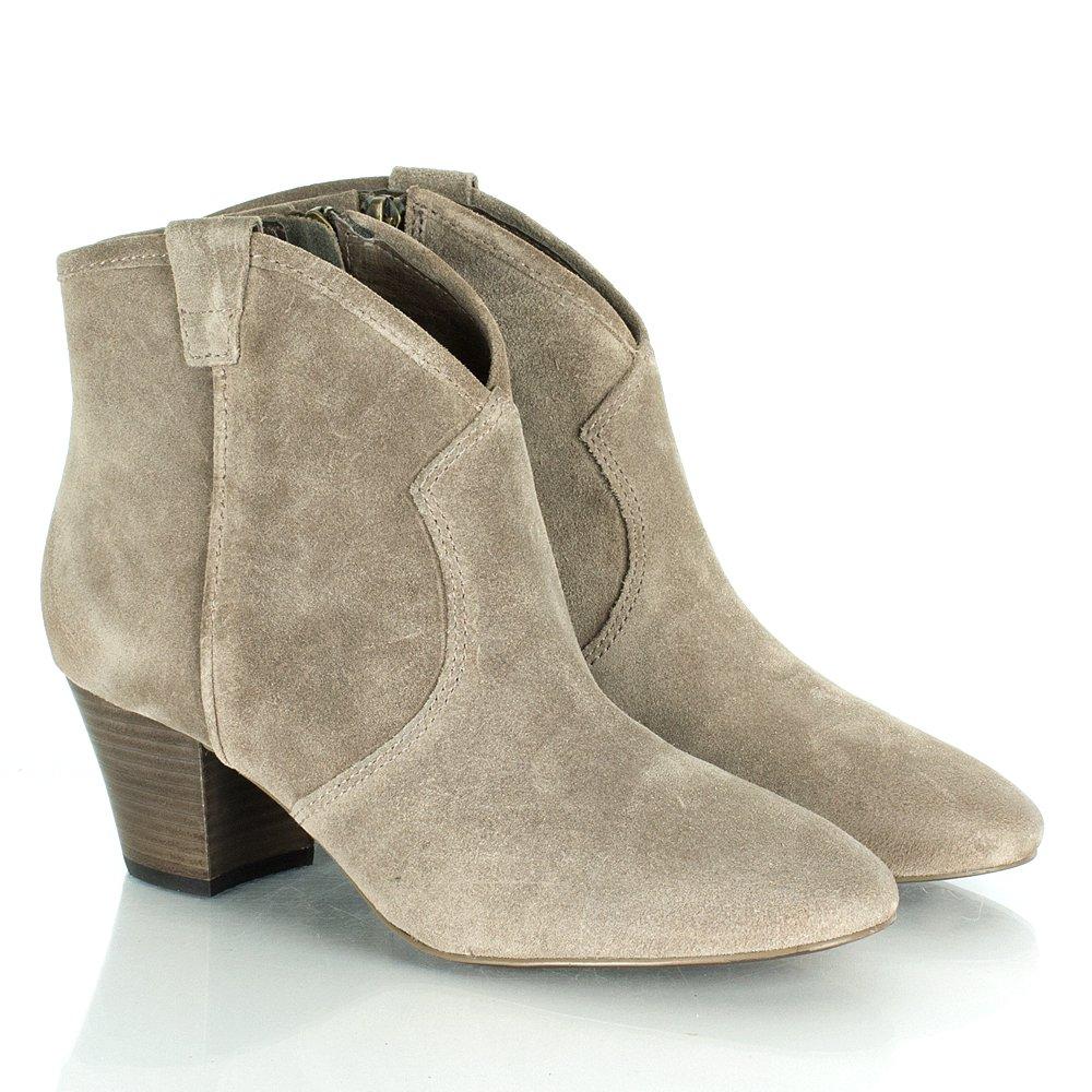 asg spiral beige women s ankle boot. Black Bedroom Furniture Sets. Home Design Ideas