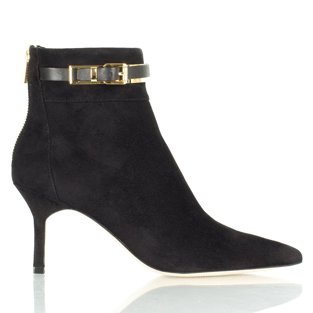 michael kors black karlie women s ankle boot. Black Bedroom Furniture Sets. Home Design Ideas