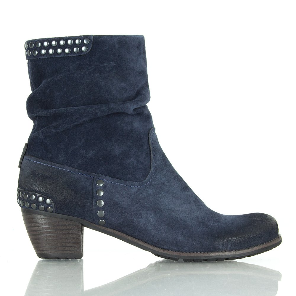 k s navy 21 35110 women s studded ankle boot