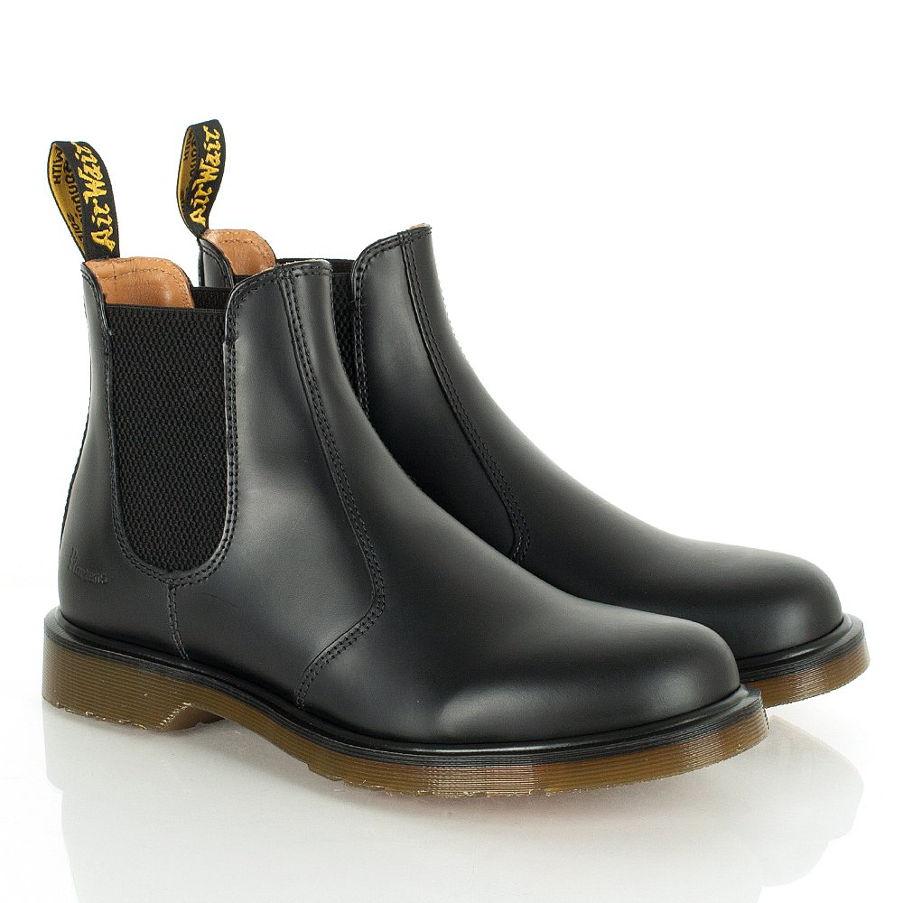 dr martens harlequins black chelsea boots. Black Bedroom Furniture Sets. Home Design Ideas