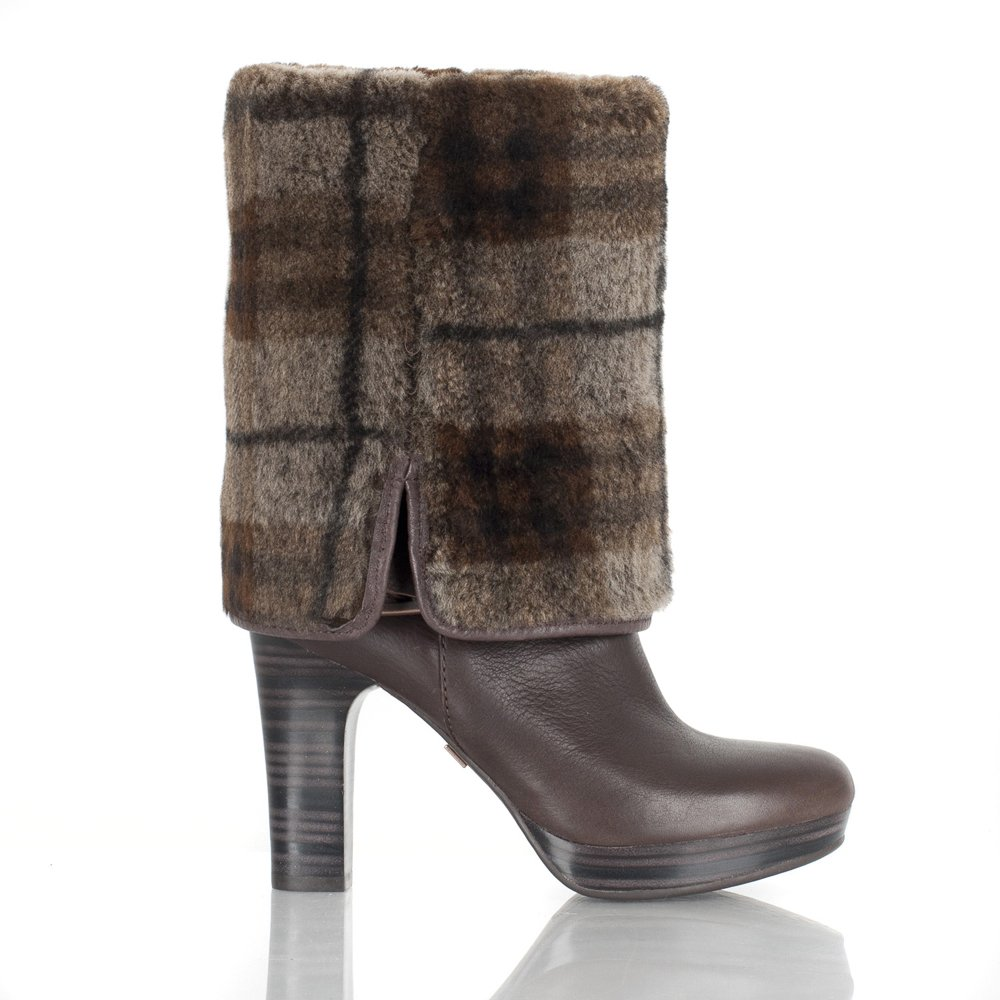 brown leather knee high ugg boots