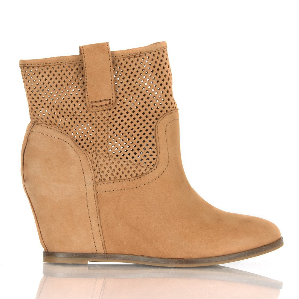 Lucky boots keno wedge booties