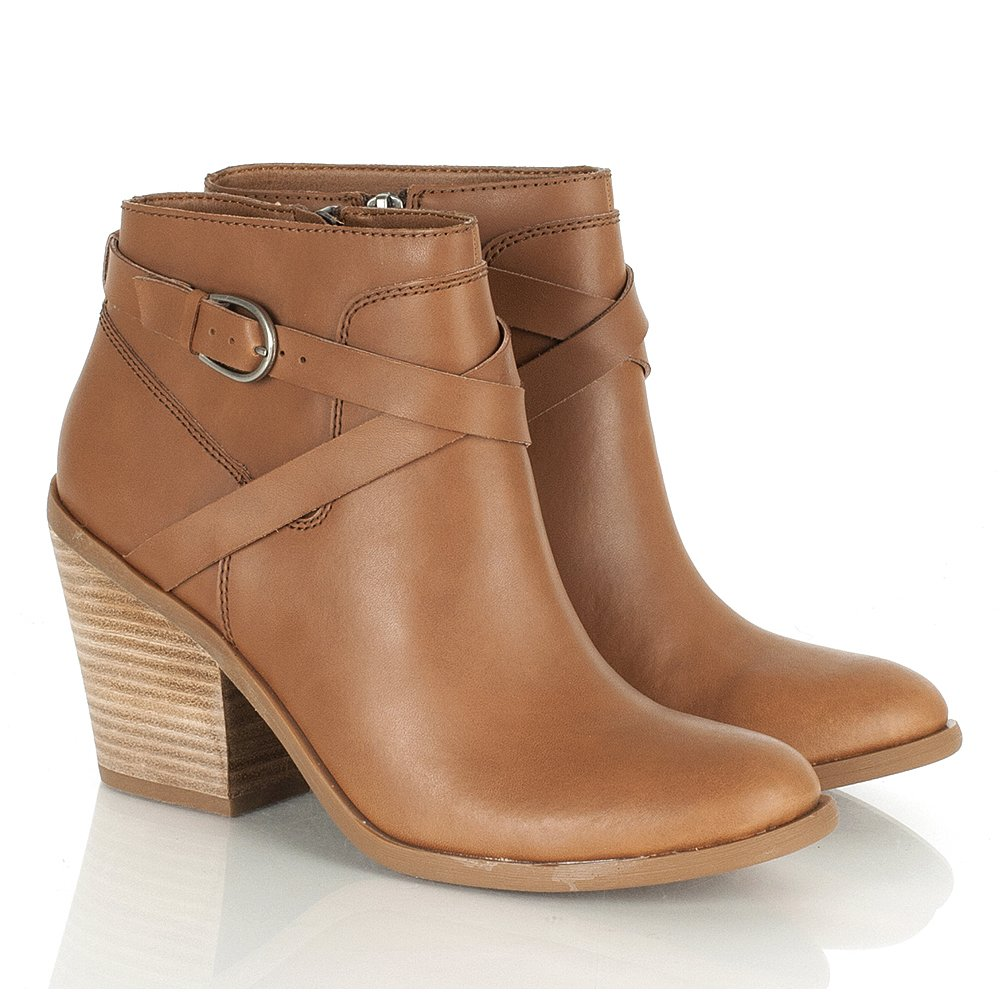 Raise the style stakes with ankle boots that boast a pointy heel and add a ton of drama to any outfit. Saucy touches, like peep toes, snap closures, and cutout heels are all ways to add a bit of sexiness to ankle boots for women.