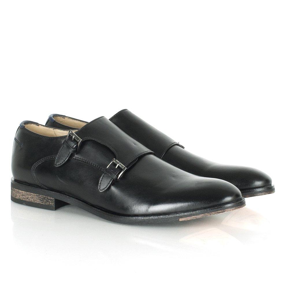 daniel townsend s black leather buckle shoe