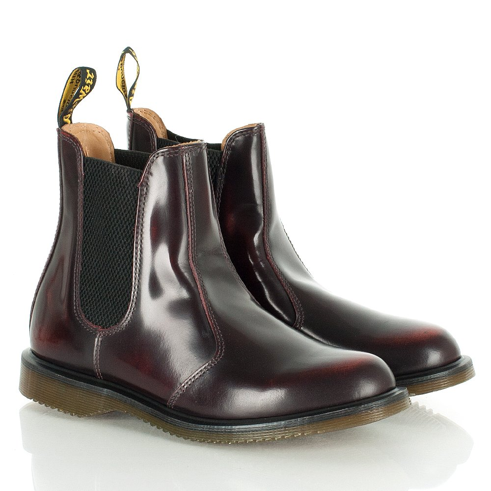 dr martens fiji burgundy leather chelsea boots. Black Bedroom Furniture Sets. Home Design Ideas