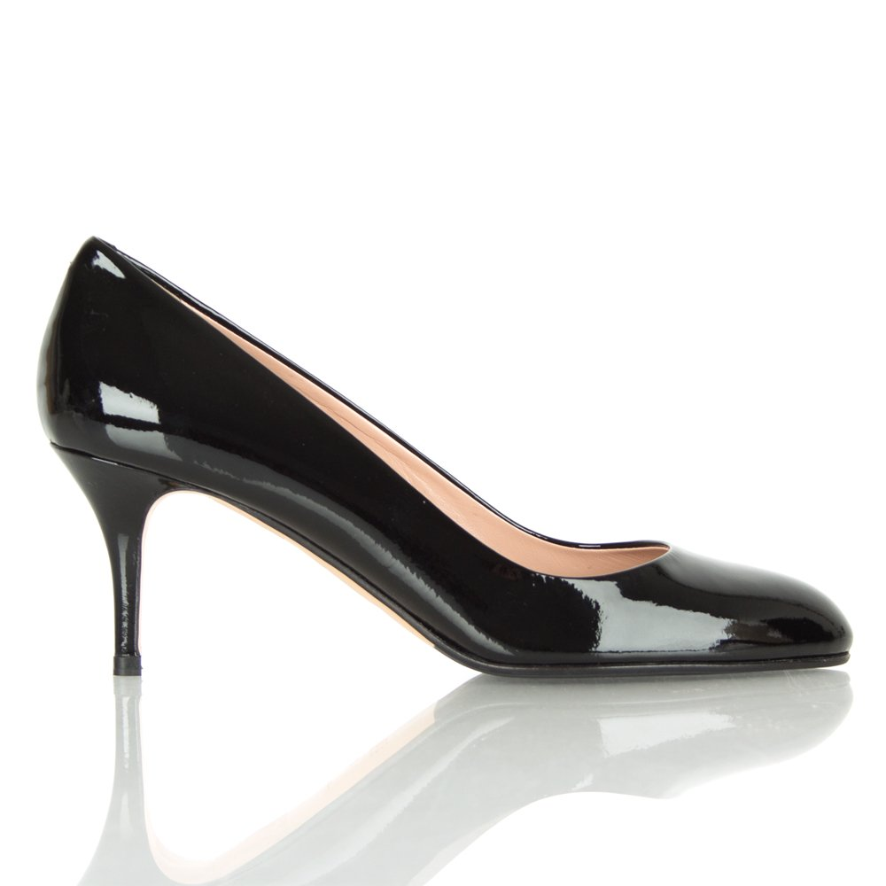 Hugo Boss Black Patent Vayla Shoes