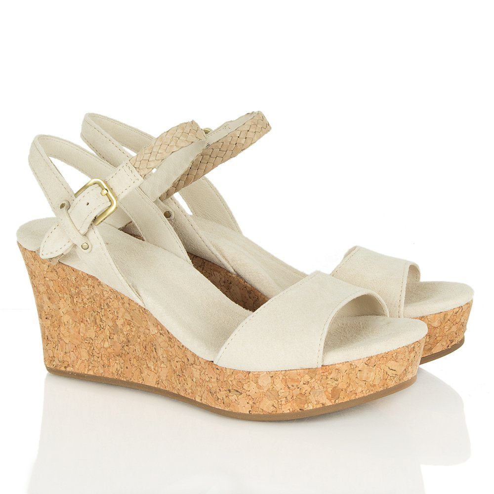 Ugg 174 Cream D Alessio Women S Wedge Sandal