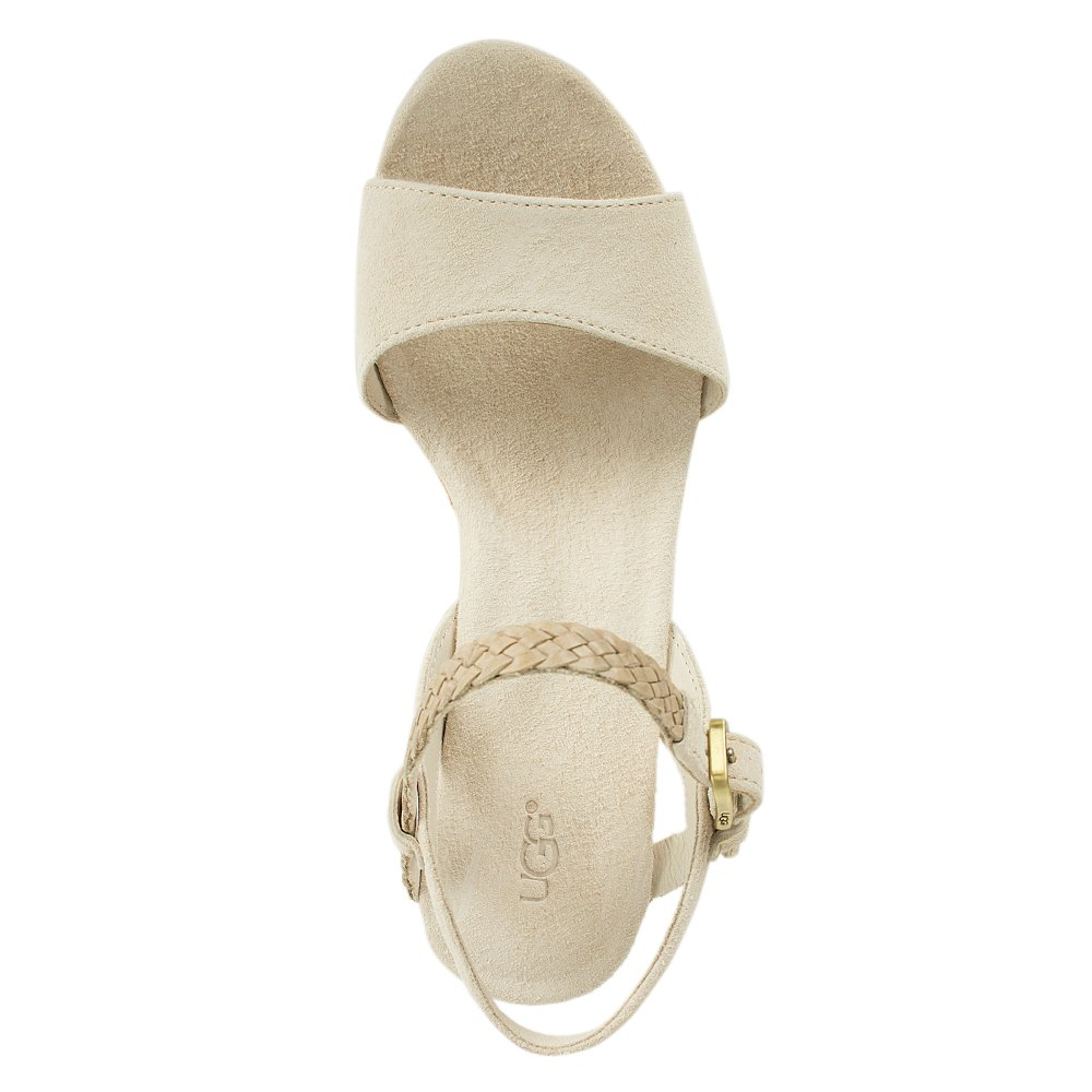 Ugg 174 Cream D Alessio Women S Wedge Sandal