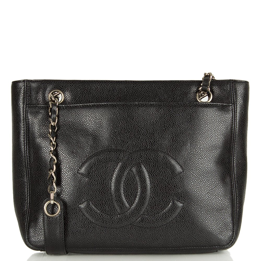 Cool Chanel Women39s Black Vintage Chevron Quilted Leather Oversized Camera