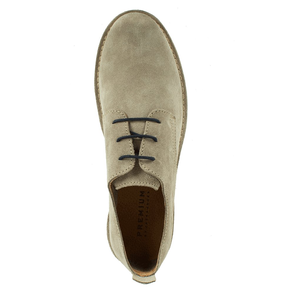 jack jones beige jj gobi men 39 s lace up suede shoe. Black Bedroom Furniture Sets. Home Design Ideas