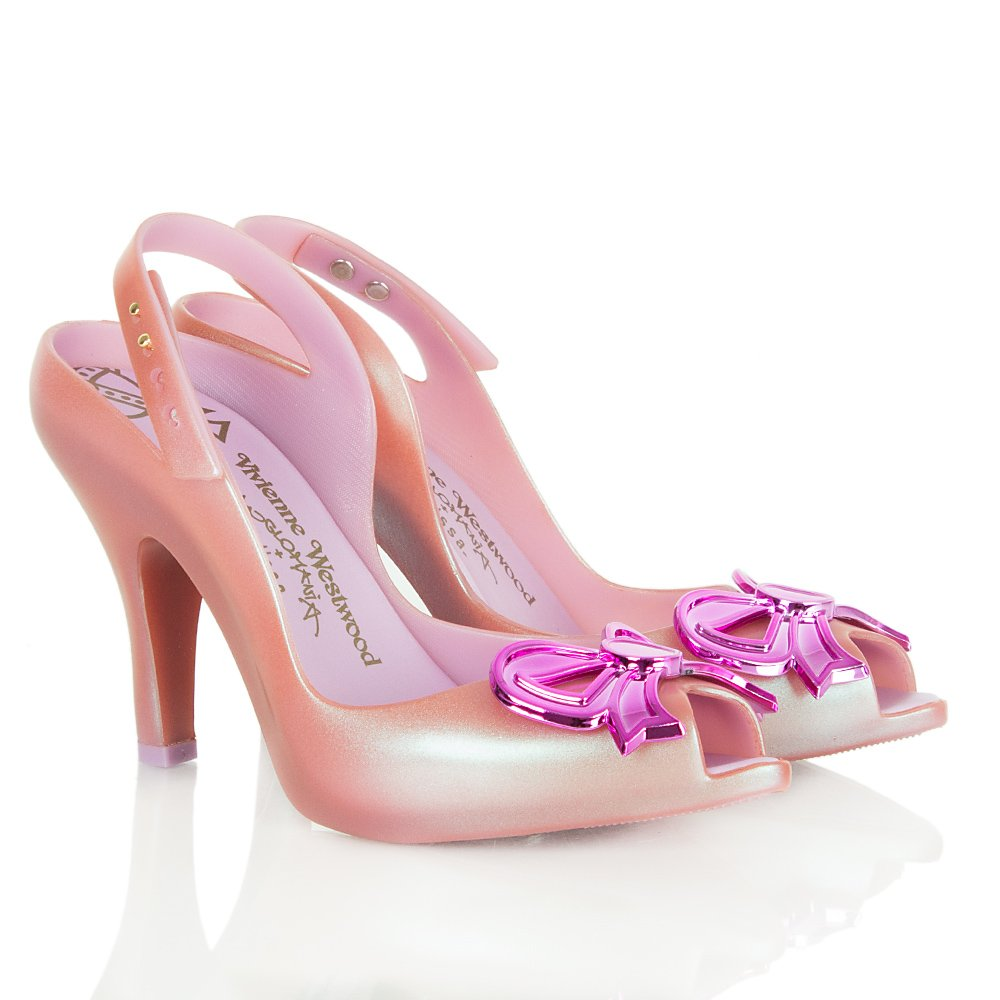 Vivienne Westwood Pink Lady Dragon Bow Anglomania Women S Shoe