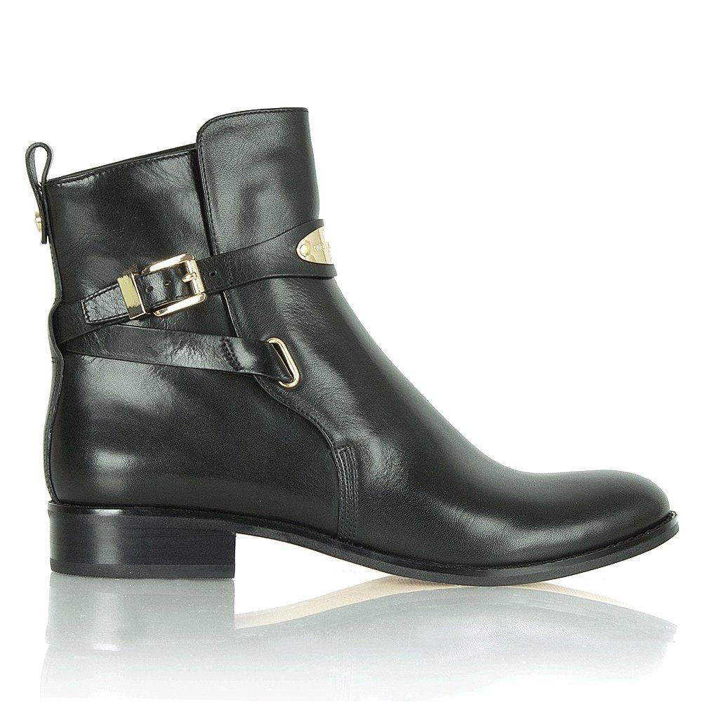michael kors arley black ankle boot. Black Bedroom Furniture Sets. Home Design Ideas