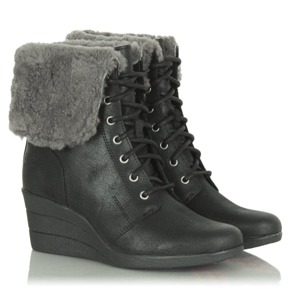 ugg zea boots black