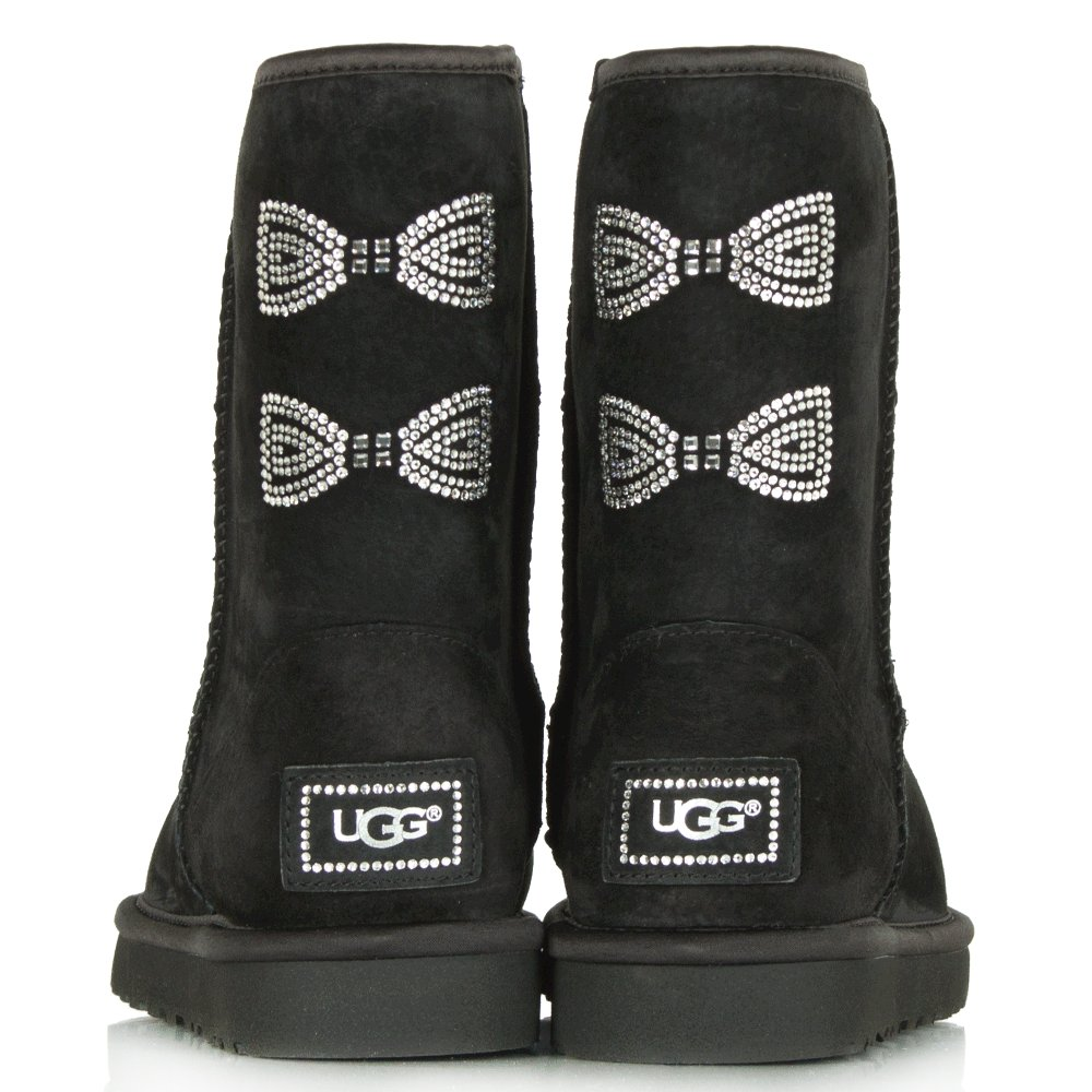 996bd4726d9 Ugg Classic Short Crystal Bow Boots - cheap watches mgc-gas.com