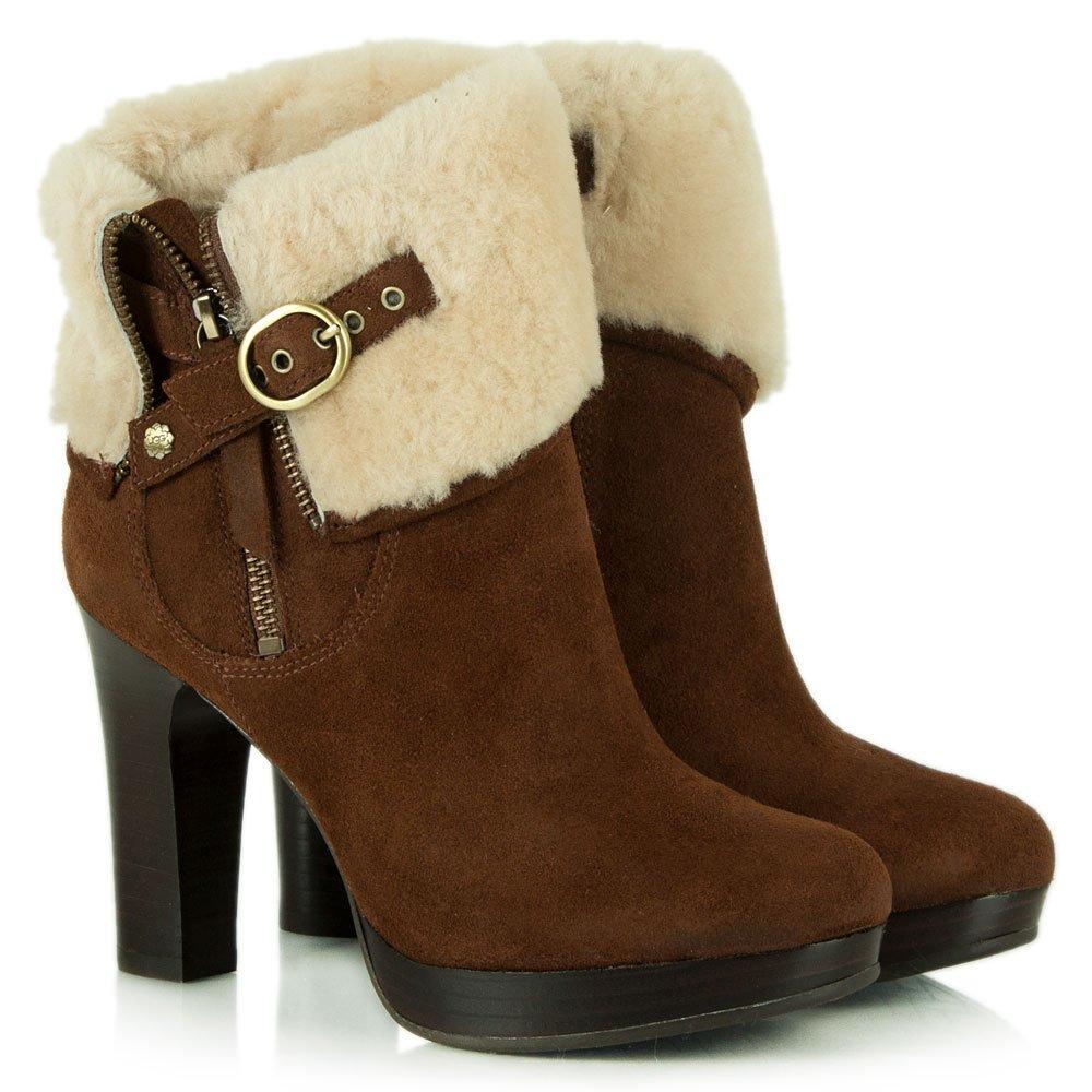 chestnut ankle ugg boots