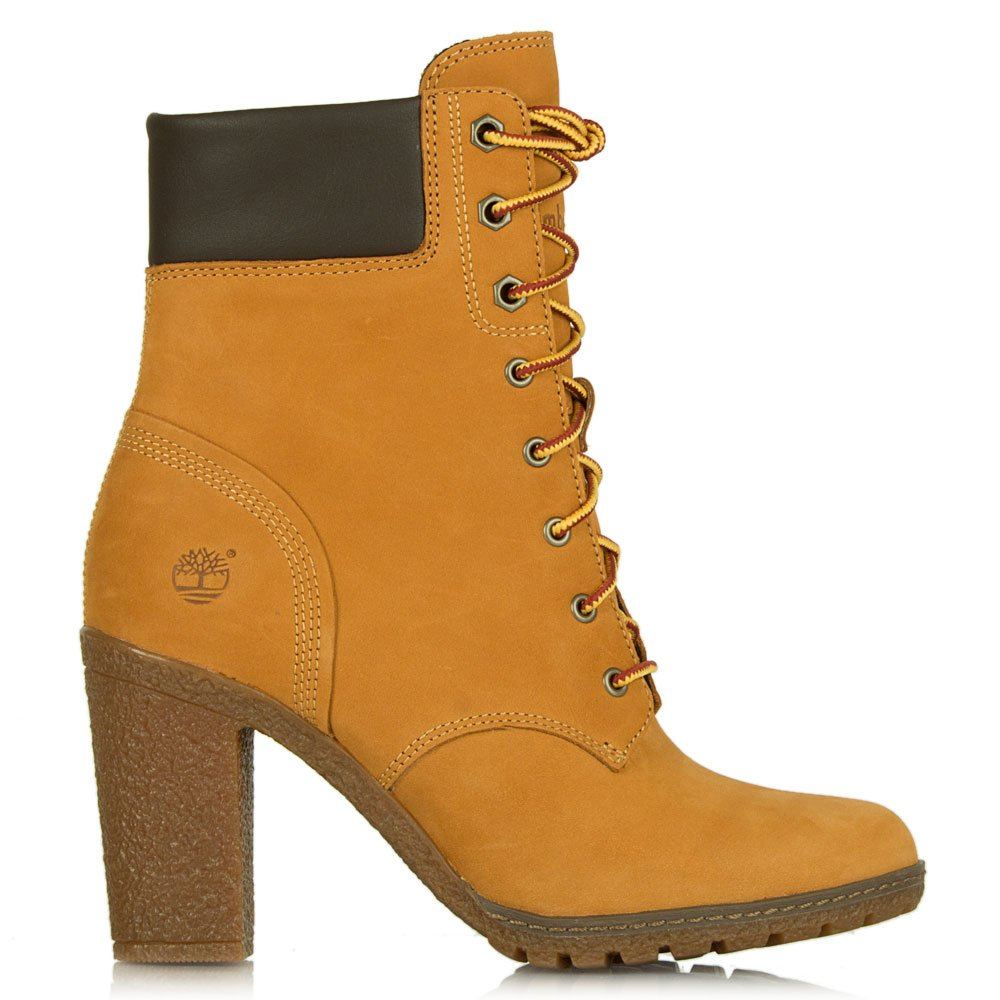 timberland wheat glancy 6 inch s ankle boot