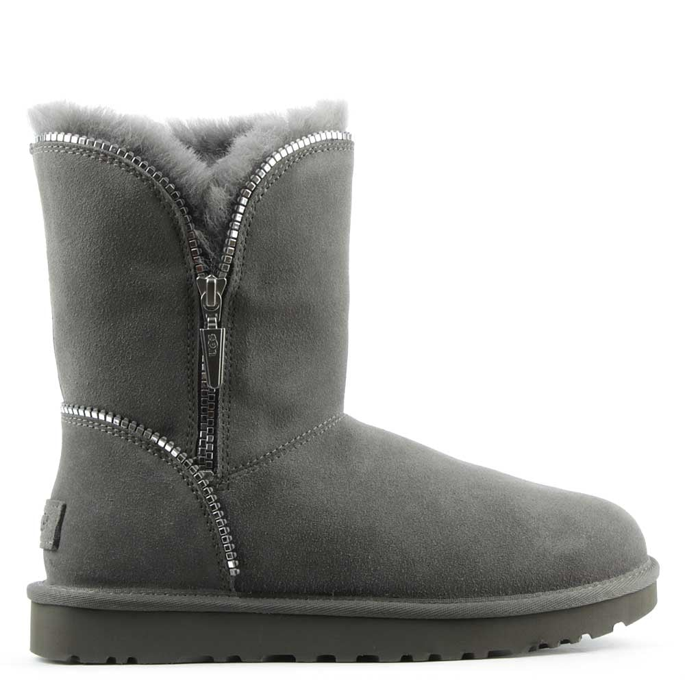 Amazing White Mountain Jodi Women W Suede Gray Boot Boots