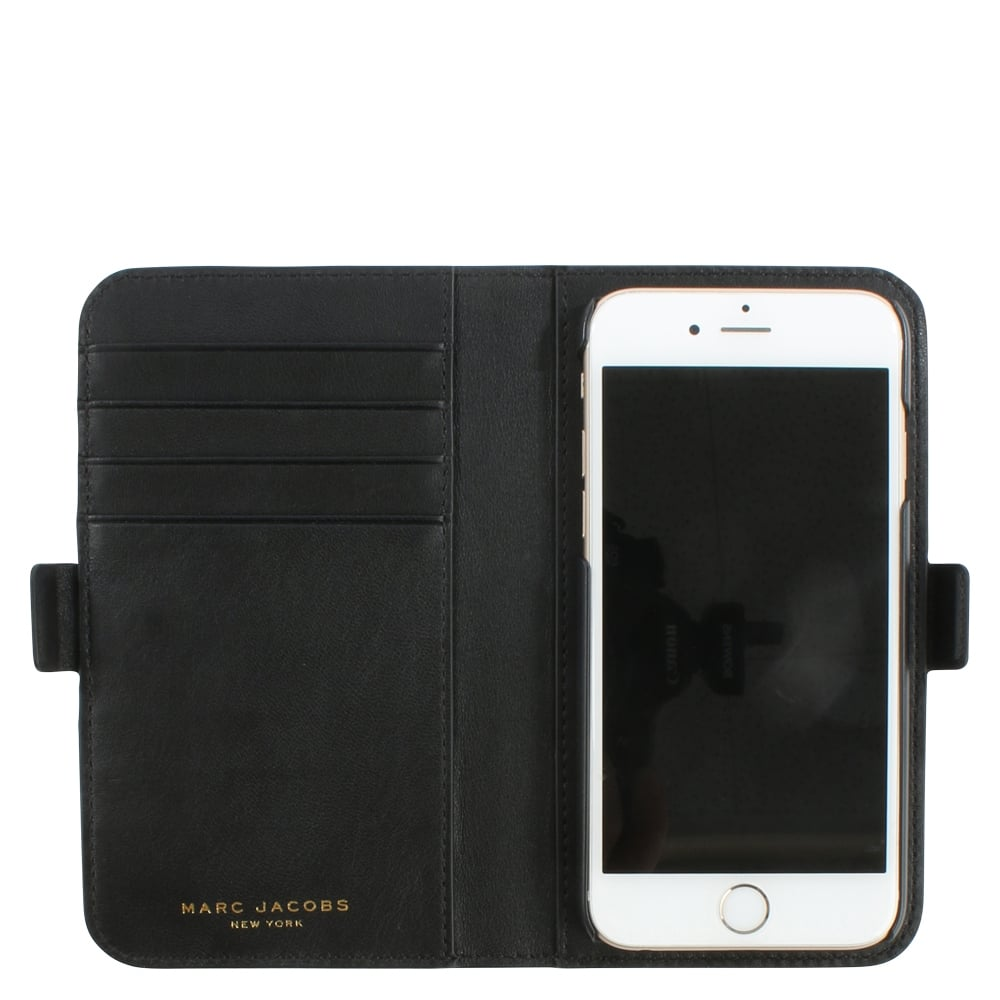 marc jacobs landscape blue leather tech wallet iphone 6. Black Bedroom Furniture Sets. Home Design Ideas