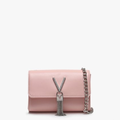 a90cf305a33 Valentino By Mario Valentino Ranma Pink Diamante Embellished Shoulder Bag