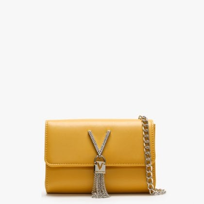 50d6644fb8 Ranma Yellow Diamante Embellished Shoulder Bag. New In. Valentino By Mario  ...