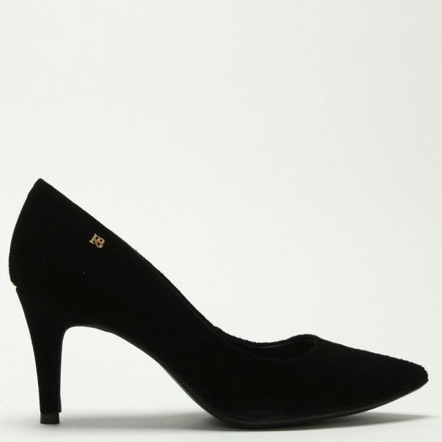 Suede Mid Heel Court Shoes