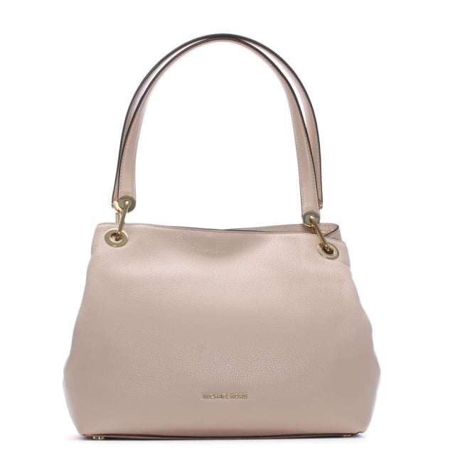 a0d979f489 Michael Kors Raven Large Soft Pink Leather Shoulder Bag