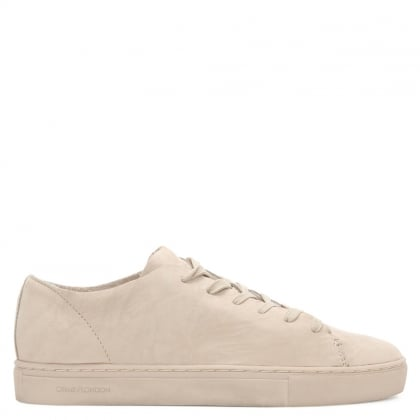 Raw Lo Pink Leather Lace Up Trainer
