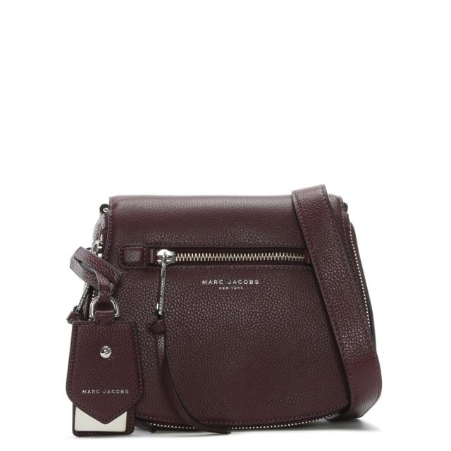 95a4d74c4948 Marc Jacobs Recruit Blackberry Leather Saddle Bag