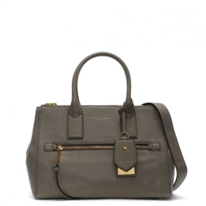 Recruit East West Mink Leather Tote Bag