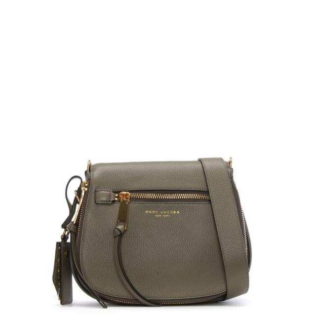 ddab401e517e Marc Jacobs Recruit Mink Leather Saddle Bag
