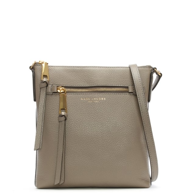 Recruit North South Mink Leather Cross-Body Bag