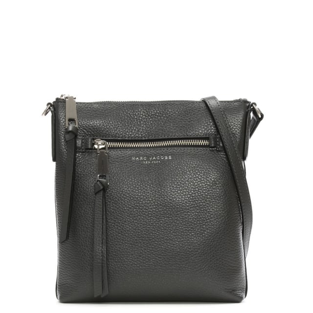 Recruit North South Shadow Leather Cross-Body Bag