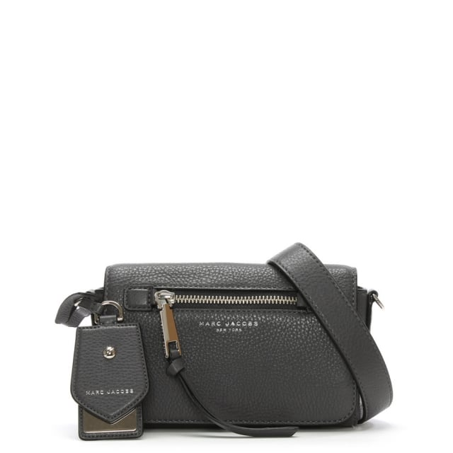 Recruit Shadow Leather Cross-Body Bag