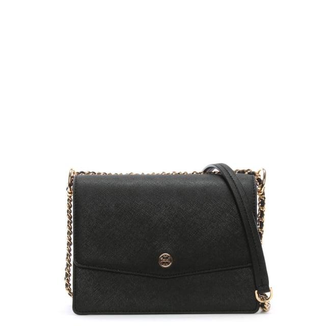 Robinson Convertible Black & Royal Navy Shoulder Bag
