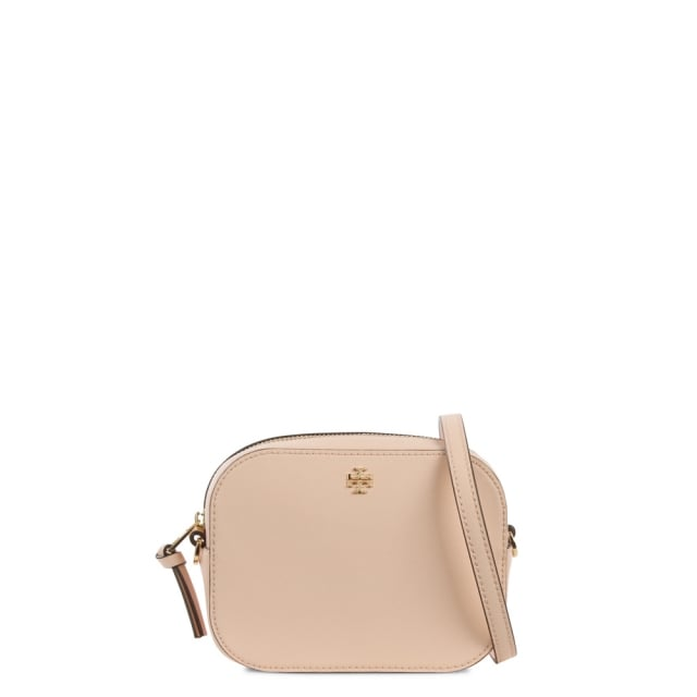 Robinson Round Pale Apricot Leather Mini Cross-Body Bag
