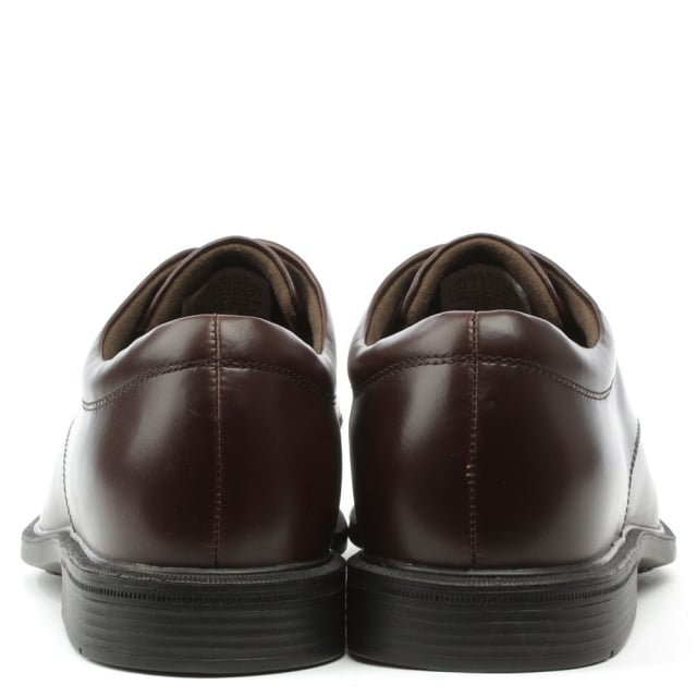 Port 11 Burgundy Leather Smart Lace Up Shoe