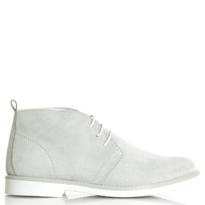 Roman Rock Rocky 102 Grey Suede Desert Boot
