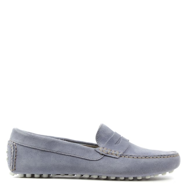 Rocky 103 Purple Suede Loafer