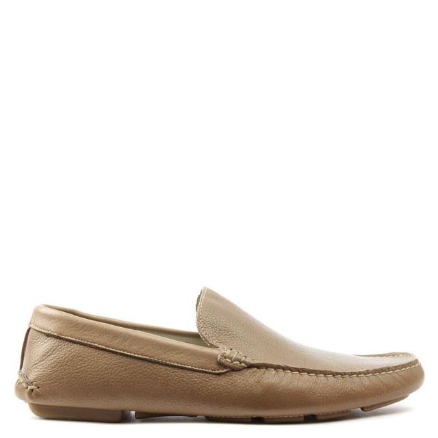 Rocky 106 Beige Soft Leather Loafer