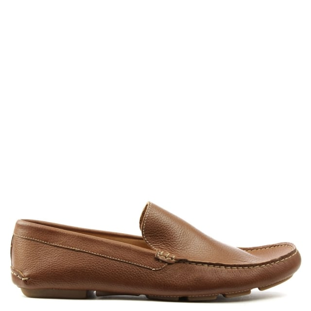 Rocky 106 Taupe Soft Leather Loafer