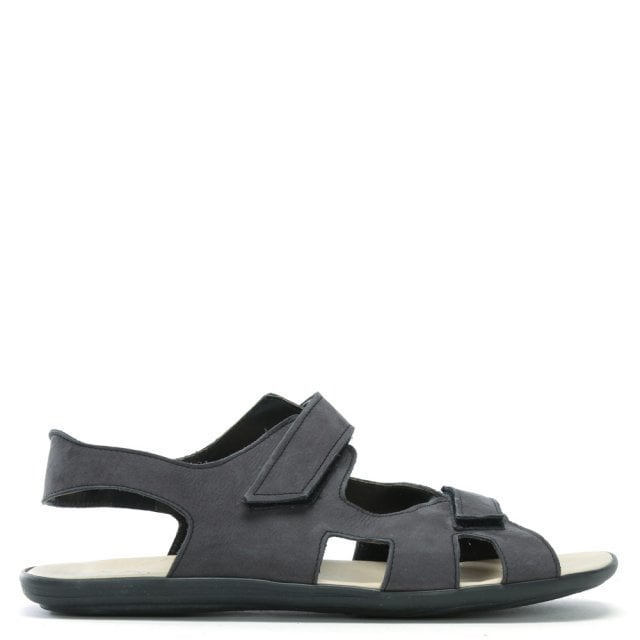 Rocky 306 Grey Suede Velcro Sandals