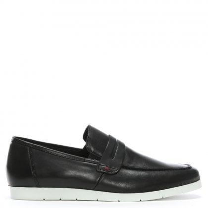 Rocky 307 Black Leather Loafers