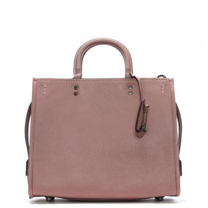 Rogue Glovetanned Dust Rose Leather Satchel Bag